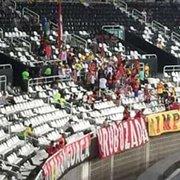 Cadê você? Flamengo leva menos torcida ao Estádio Nilton Santos que Sport e Coritiba: 238