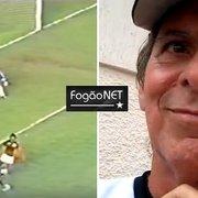 Ídolo do Botafogo, Mendonça provoca Júnior em feijoada: 'Não conheço'
