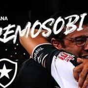 Queremos o bi! Botafogo capricha na chamada do jogo contra o Audax Italiano