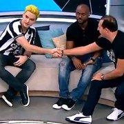 Felipe Neto explica como é patrocinar o Botafogo e 'faz proposta' por Love, Nenê e Robinho