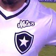 Botafogo estampa patrocínio da Caixa com mudança no uniforme contra o Vitória