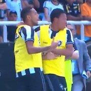 Treta no banco: árbitro relata xingamentos de Gilson, do Botafogo, e atacante do América-MG