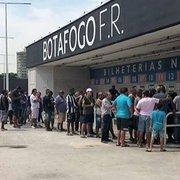 Parcial: cinco mil ingressos vendidos para Botafogo x América-MG