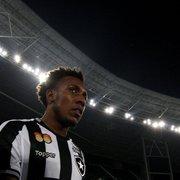Botafogo já decidiu que vai devolver Moisés ao Corinthians ao fim da temporada