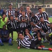 Base: Botafogo massacra o Paysandu por 12 a 1 e avança na Copa do Brasil Sub-17
