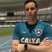 Preparador de goleiros do Botafogo revela: Gatito volta a sentir dores no punho e processo regride