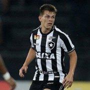 Emprestado pelo Atlético-PR, João Pedro está fora dos planos do Botafogo