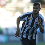 Botafogo comunica ao Internacional que não há interesse em renovar com Brenner