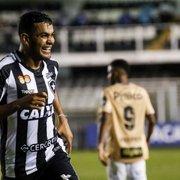 Autor do gol na Vila, Brenner admite 'gostinho de frustração' com empate com o Santos