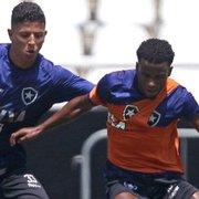 Cheio de desfalques, Zé Ricardo esboça Botafogo com novidades para sábado