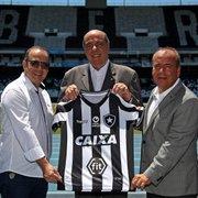 Botafogo encaminha acerto com empresa de apostas online para o omoplata do uniforme