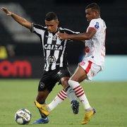 Após reestreia frustrante pelo Botafogo, Erik mira o clássico: 'Pode mudar o clima'