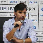 Noronha diz que Botafogo ainda tenta Erik, Jean e Moisés e fala sobre Vinícius e Madson