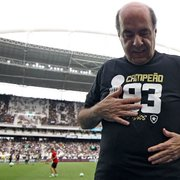 Mufarrej vê elenco do Botafogo 'praticamente fechado' e confirma negociação por Camilo