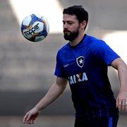 Site: João Paulo será poupado. Botafogo deve ter novidades contra o Bangu