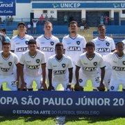 Copa São Paulo: Botafogo encara o Guarani nesta terça às 17h15, com SporTV