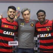 Emprestados pelo Botafogo: Leandrinho renova com o Sport e Gorne é anunciado no Confiança