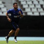 Ceará oferece R$ 3 milhões por Leandro Carvalho; Botafogo só aceita pagamento à vista