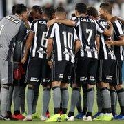 Botafogo quita salários de dezembro com os jogadores; direitos de imagem seguem atrasados