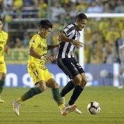 Site: RedeTV! amarga baixa audiência em vitória do Botafogo na Copa Sul-Americana