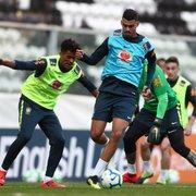 Zagueiro do sub-20 do Botafogo treina com a Seleção Brasileira em Portugal