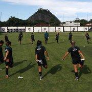 VÍDEO: veja como está a preparação do Botafogo no futebol feminino