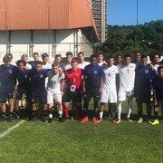 Base: de olho na estreia no Carioca Sub-17, Botafogo absorve experiências com universidade americana