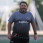 Auxiliar rasga elogios a Barroca no Botafogo: 'Estilo Guardiola de buscar soluções para a equipe'