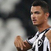 Zé Gatinha fala em 'sonho' e confirma saída do Botafogo: 'Esperava mais oportunidades'