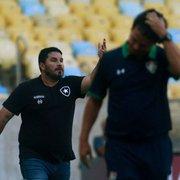 Barroca exalta Diniz, agradece torcida e comemora bom início do Botafogo