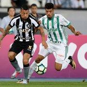 Como, em 5 anos, Palmeiras e Botafogo foram de finanças quase iguais para abismo gigantesco