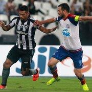 Bahia x Botafogo terá transmissão da Globo apenas para o estado baiano e do Premiere para o Brasil todo