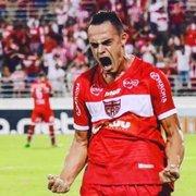 Botafogo está perto de fechar contratação do atacante Victor Rangel, do CRB