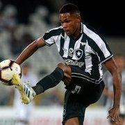 Lucas Barros: 'Sei que estou em débito no Botafogo, mas vou trabalhar para dar volta por cima'