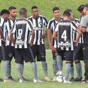Base: Botafogo estreia na Taça Rio Sub-20 neste domingo, contra o Americano, em Campos