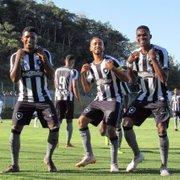 Base: após estreias distintas, Botafogo e Palmeiras se enfrentam no Brasileiro Sub-20