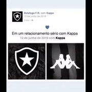 Botafogo segue sem patrocínio master e deve começar a usar Kappa em setembro