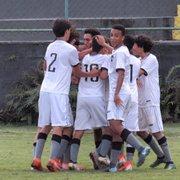 Base: Sub-15 do Botafogo vence Barra da Tijuca e vai às semifinais da Taça GB; sub-17 é eliminado
