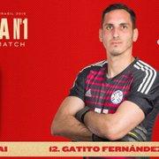 Man of the match, Gatito, do Botafogo, se destaca em empate do Paraguai com o Catar: 'Pura frieza'