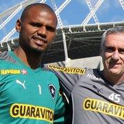 Flávio Tênius revela desejo de Jefferson de participar do dia a dia do Botafogo