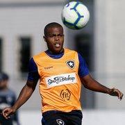 Botafogo confirmado com volta de Carli e Vinicius Tanque na frente para enfrentar o Fluminense