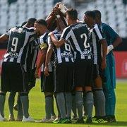 Base: já sem chances de classificação, Botafogo arranca empate em 2 a 2 com o Internacional no Brasileiro Sub-20