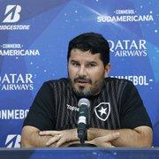 Barroca exalta caráter do elenco do Botafogo contra o Atlético-MG: 'As coisas vão melhorar'