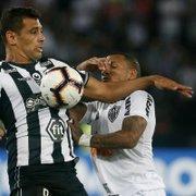 É hoje! Botafogo tenta virada contra Atlético-MG, às 21h30, para manter tabu