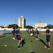 Com retorno de Marcos Vinicius, Botafogo se reapresenta antes de enfrentar o Atlético-MG