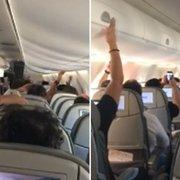 Torcida do Botafogo leva bronca de piloto de avião no voo para Belo Horizonte