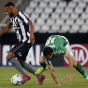 Atuação sonolenta e batida na trave: fatores do empate do Botafogo