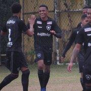 Base: Botafogo poupa titulares e goleia o Macaé por 7 a 0 pela Taça Rio Sub-20
