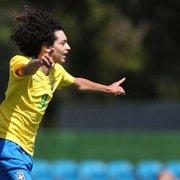 Joia do Botafogo faz 3 gols e Seleção Brasileira sub-15 goleia Chile por 5 a 0