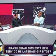 No radar de Tite, Marcinho, do Botafogo, é ignorado em lista de melhores laterais do Brasileirão em mesa-redonda